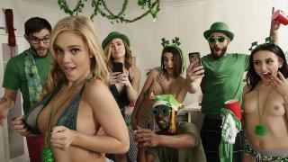 Saint Patricks day sex party
