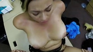 Busty police officer fucked by pawn man