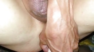 Strap-On In His AssHole Homemade