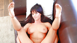 Hot bodied brunette with perky tits wants to fu