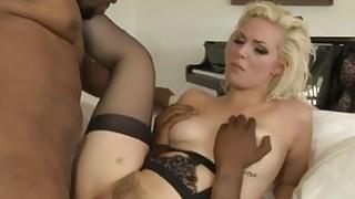 Hot Babe Jenna Ivory Gets Gangbanged By Black Men