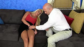 Blonde bimbo sex slave